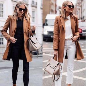 L.L Bean | VINTAGE Cashmere/Wool Blend Camel Coat